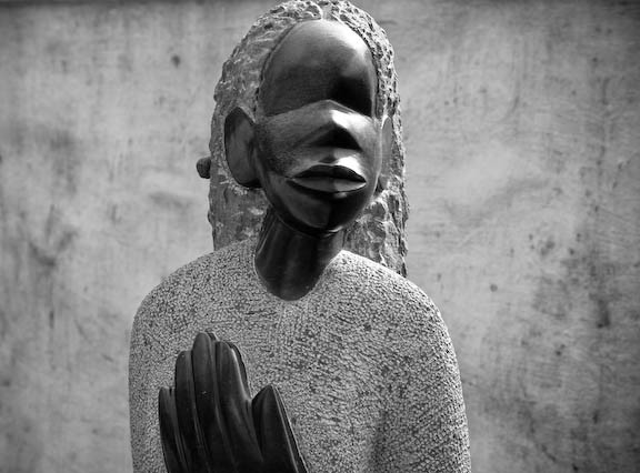 Africa: People, Art, and Architecture · Statue, Franschoek, South Africa