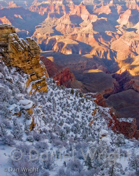 Arizona & Colorado Plateau · South Rim in Winter, Grand Canyon National Park
