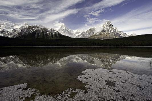 Waterfowl Lake, Banff National Park, Alberta, Canada